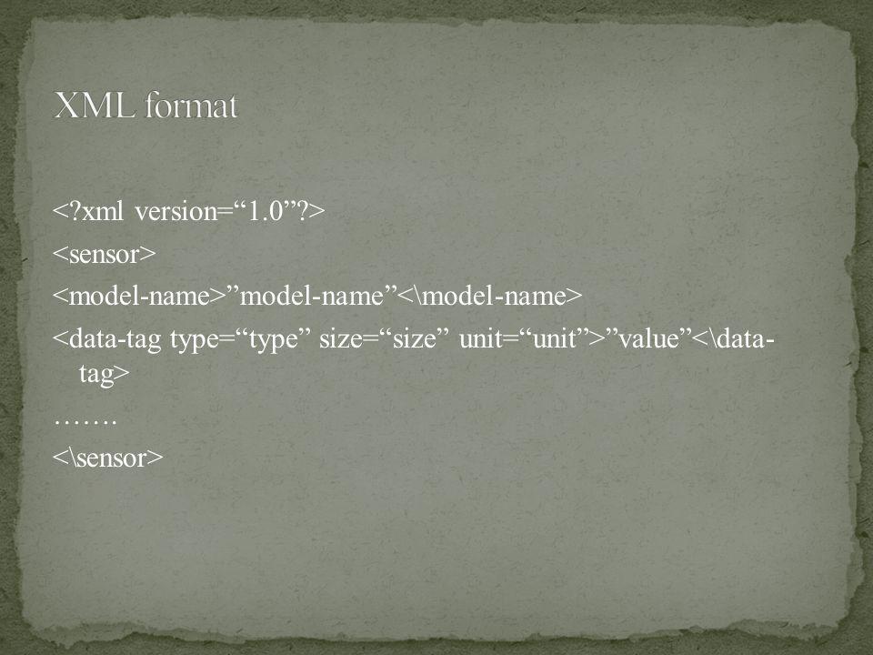 """model-name"" ""value"" ……."