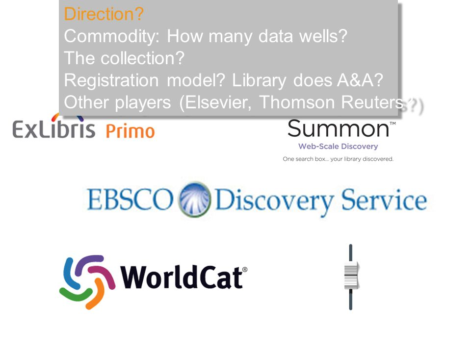 Direction. Commodity: How many data wells. The collection.