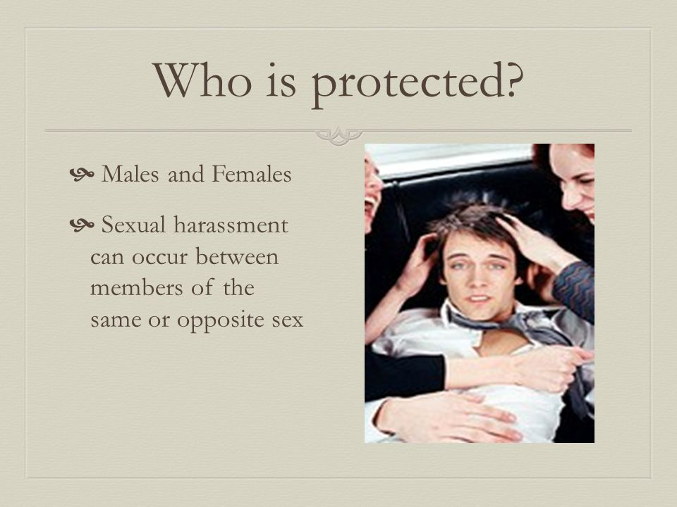 Who is protected.