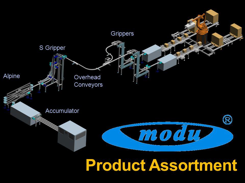 Product Assortment Alpine Accumulator S Gripper Overhead Conveyors Grippers