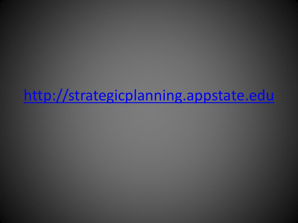 http://strategicplanning.appstate.edu