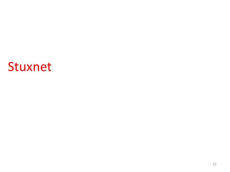 Stuxnet 33