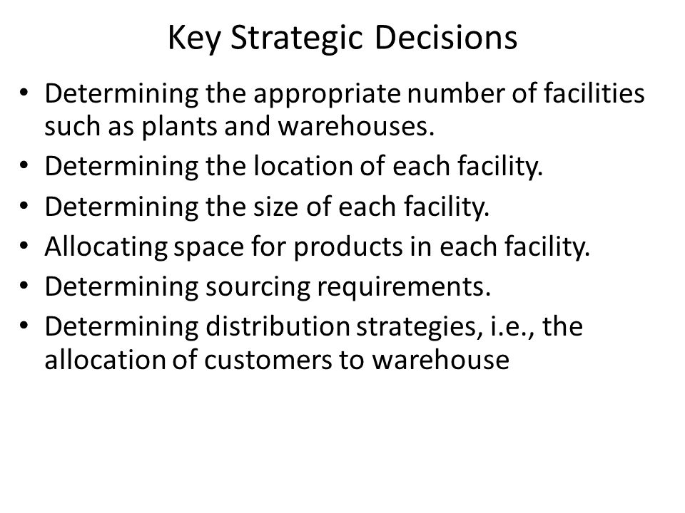 Calculating Fixed Cost(By calculating Warehouse Capacity Estimation of actual space required Average inventory level = Annual flow through warehouse/Inventory turnover ratio Space requirement for item = 2*Average Inventory Level Every pallet stored in the warehouse requires an empty space to allow for access and handling So, Multiply required storage space by a factor to account for – access and handling – aisles, – picking, sorting and processing facilities – AGVs (automatic guided vehicles) Typically multiply required storage space by a factor (>1) Typical factor value = 3