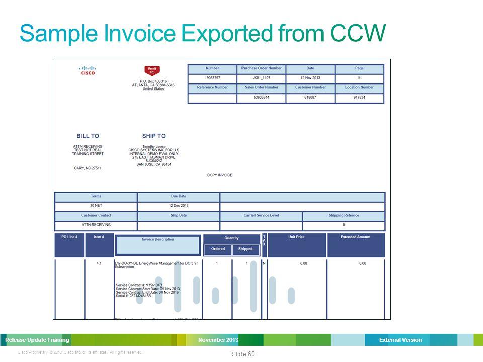 Cisco Proprietary © 2013 Cisco and/or its affiliates.