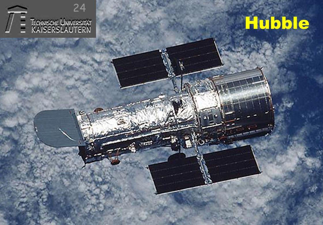 © 2010, reiner@hartenstein.de http://hartenstein.de TU Kaiserslautern 2011, Hubble 24
