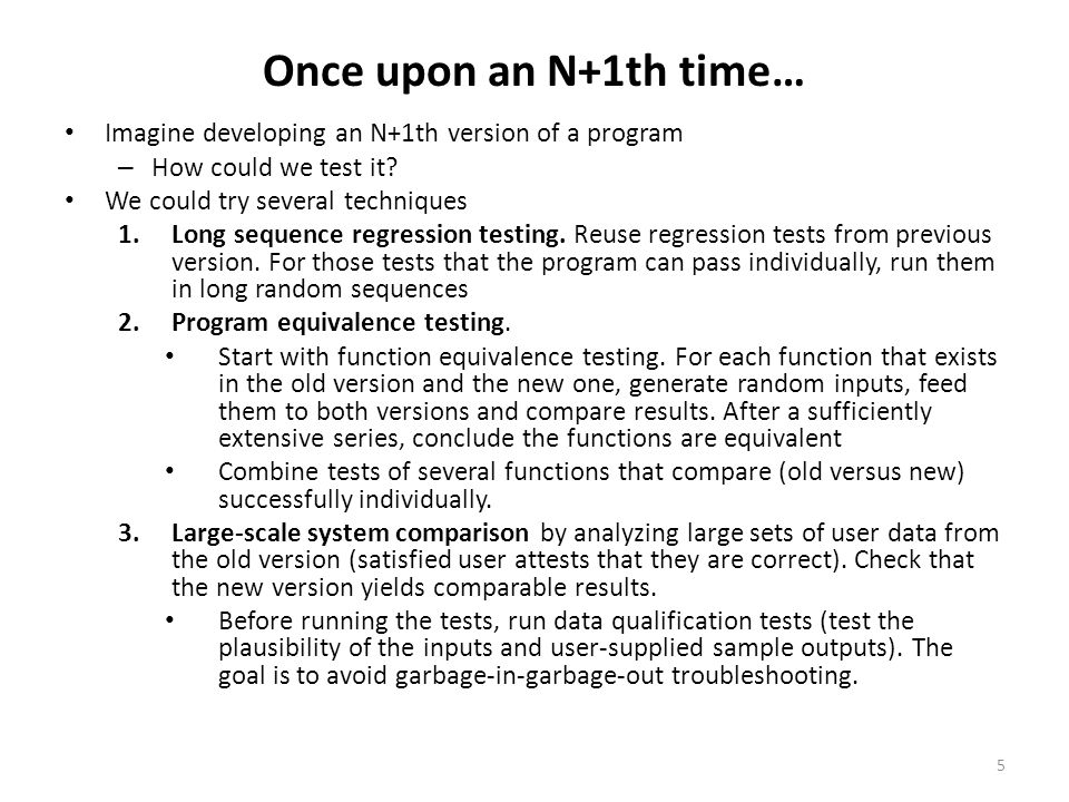 Working definitions of HiVAT A family of test techniques that use software to generate, execute and interpret arbitrarily many tests.
