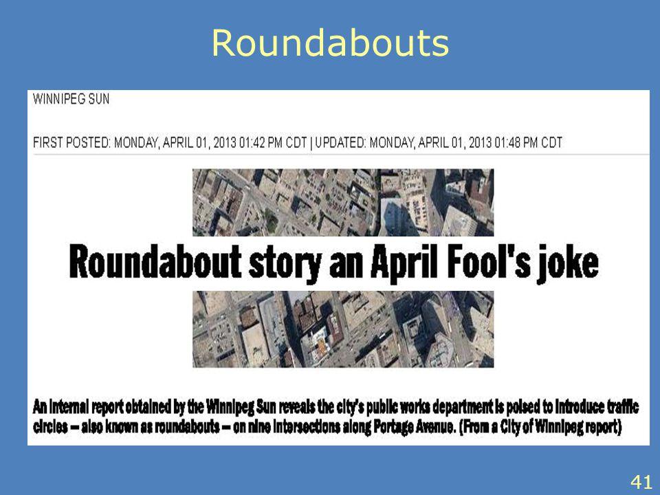 Roundabouts 41