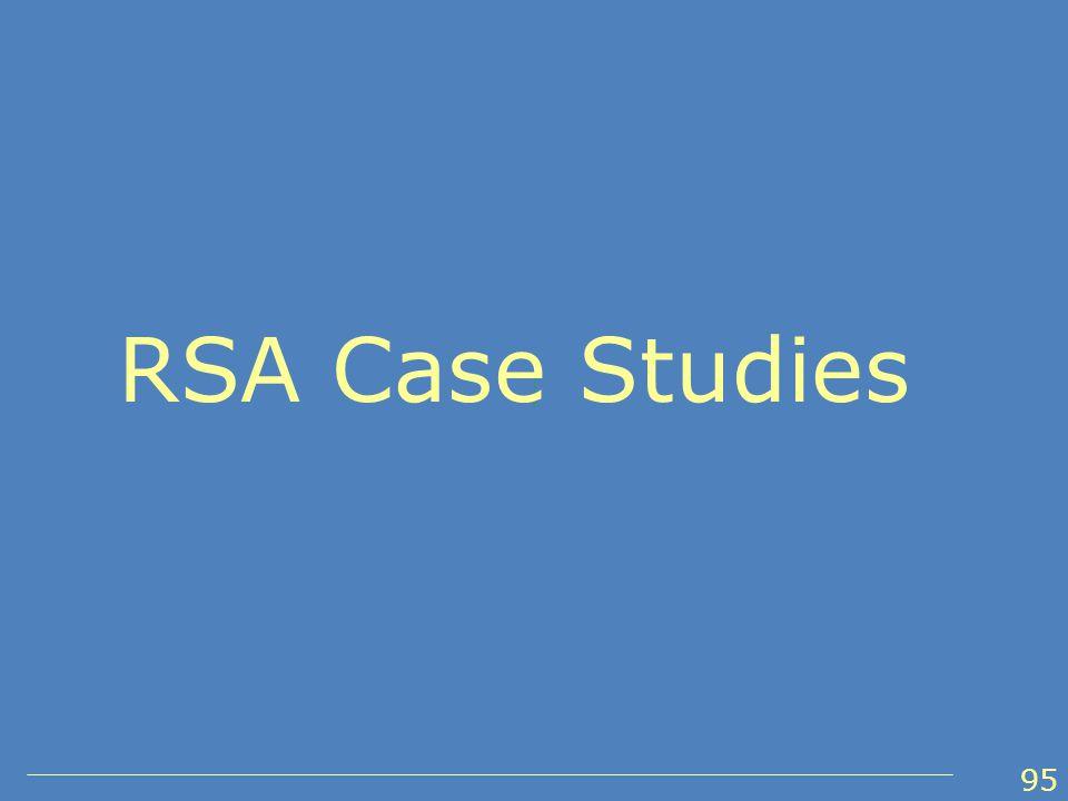 RSA Case Studies 95
