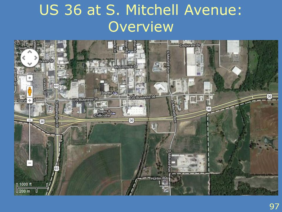 US 36 at S. Mitchell Avenue: Overview 97