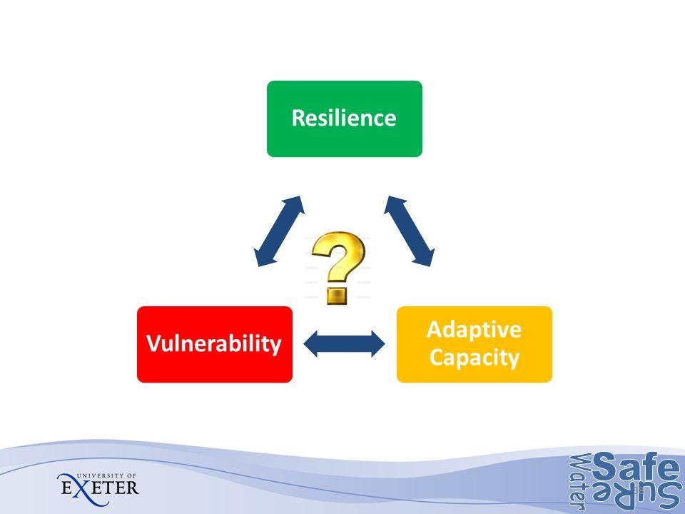 Resilience Adaptive Capacity Vulnerability 38