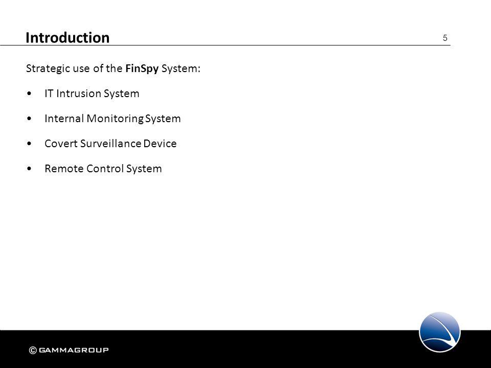146 FinSpy Administration – Configuration User Management