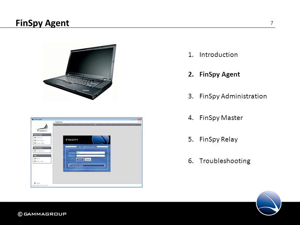 18 FinSpy Agent – Target List – Offline
