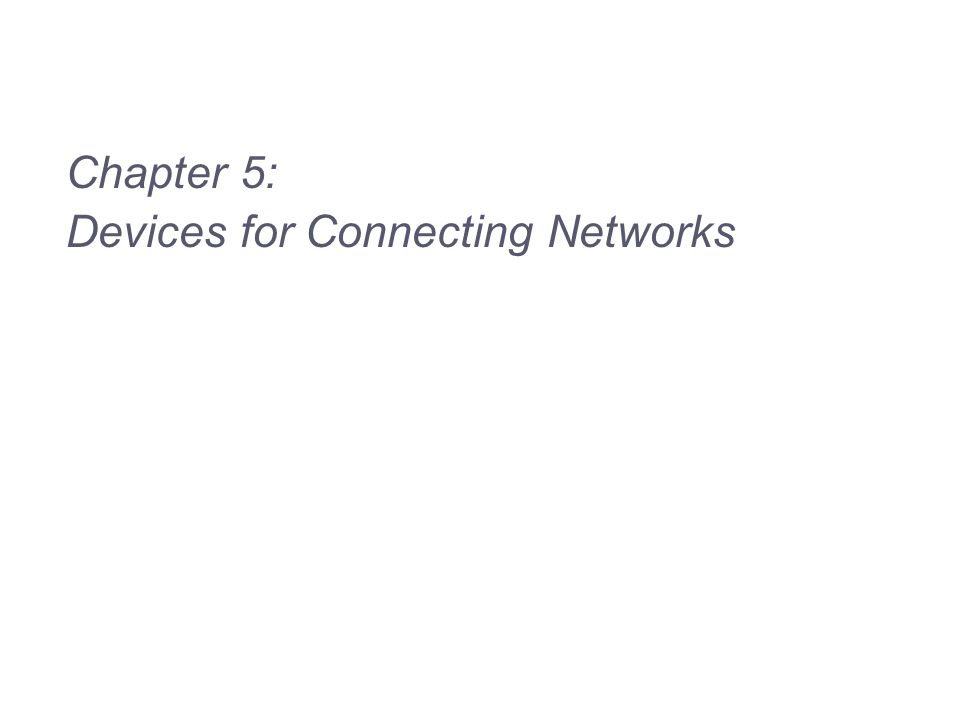 12 Figure 5-2 Simple hub connecting networked computers