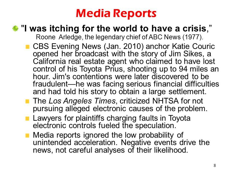 8 Media Reports