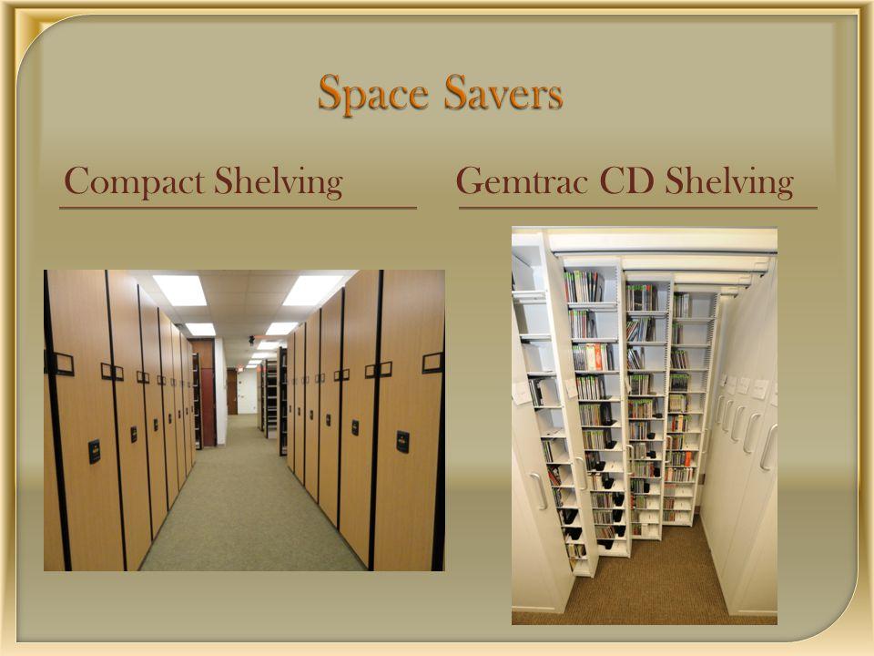 Compact ShelvingGemtrac CD Shelving