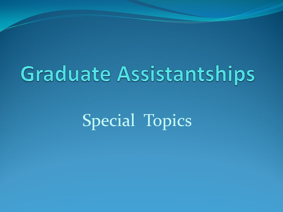 Agenda The process Frequently encountered problems Late arrivals / late assistantship appointments Dates of Significance  Traineeships that are fellowships
