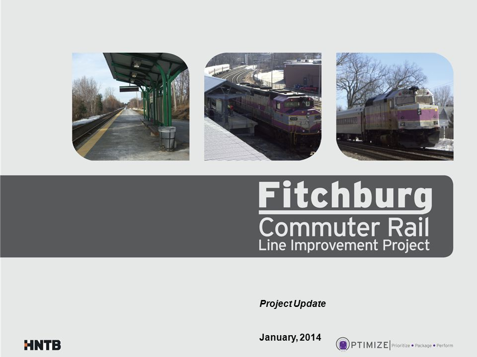Program Definition/Goals One Program/Multiple Projects: $159M Small Starts/Rt 62 Bridge (FTA/State) $ 10M CPF 43 (ARRA) $ 42M Double Tracking (ARRA/EOHED) $ 59M Wachusett Extension (TIGER) $ 7M N.