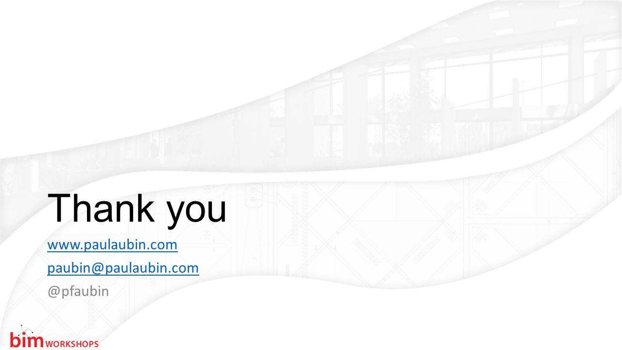 Thank you www.paulaubin.com paubin@paulaubin.com @pfaubin