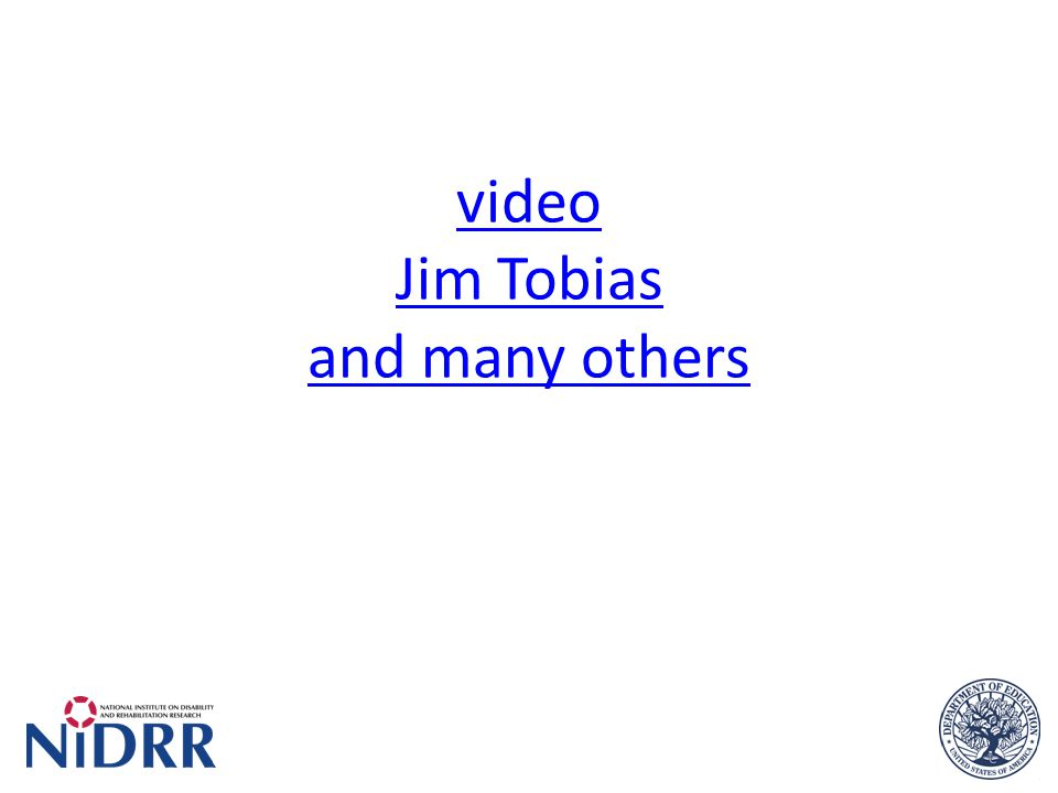 video Jim Tobias and many others