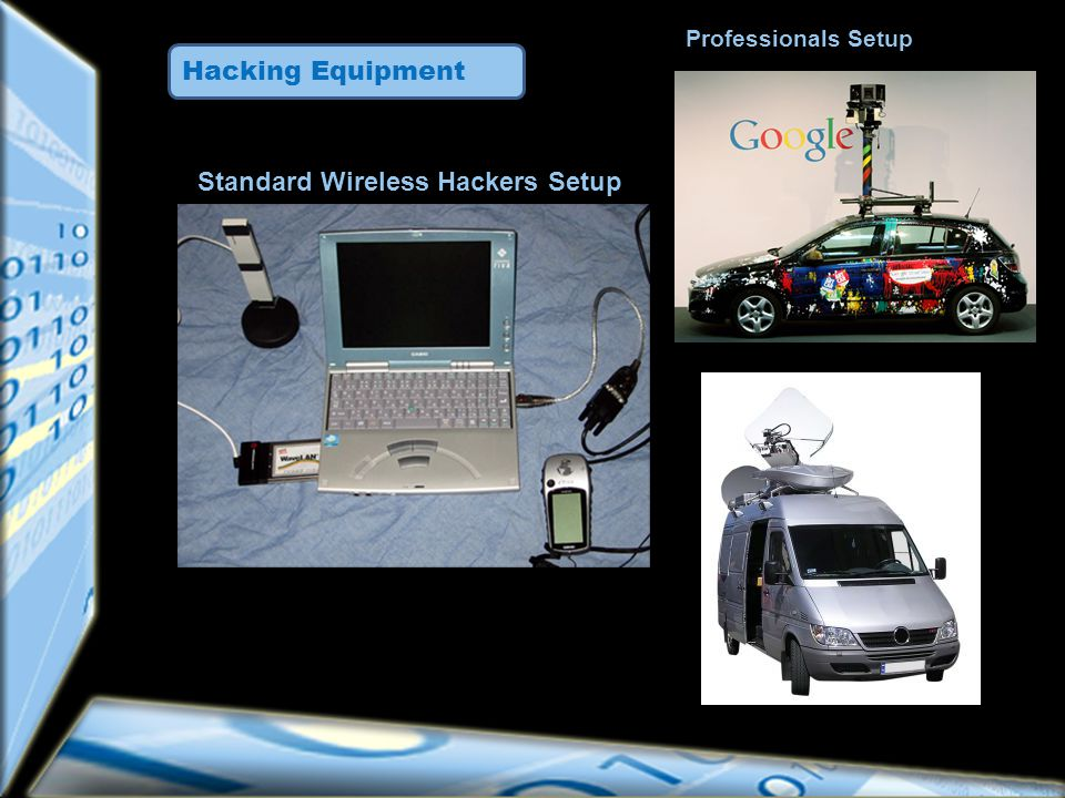 Hacking Equipment Standard Wireless Hackers Setup Professionals Setup