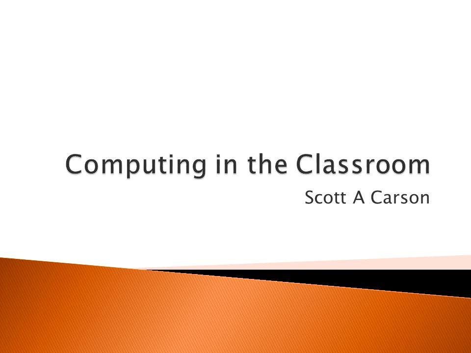 Scott A Carson