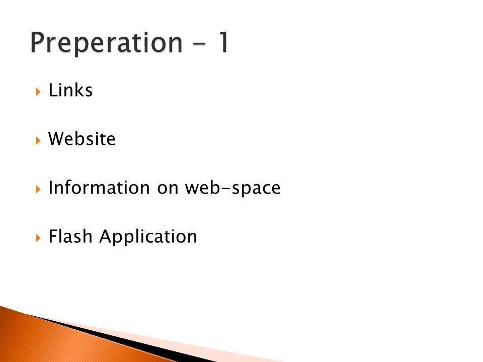  Flash Application: