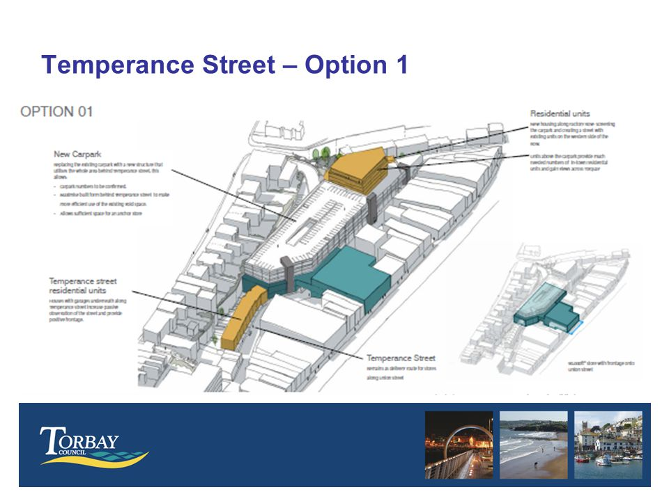 Temperance Street – Option 1