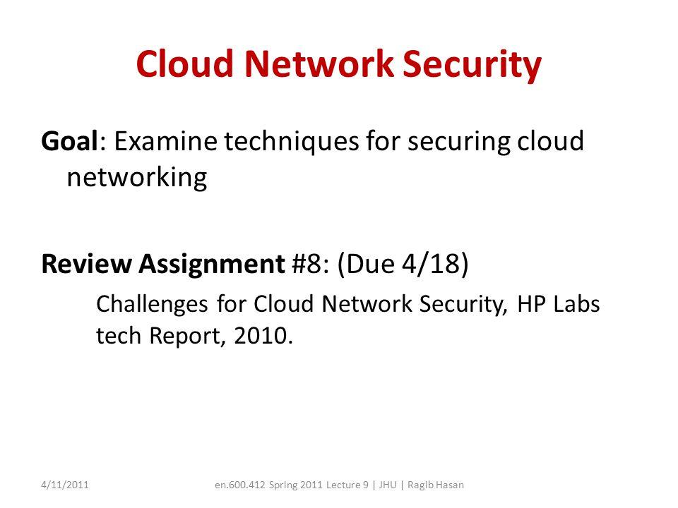Recap: Airavat (Cloud Privacy) Strengths.Weaknesses.
