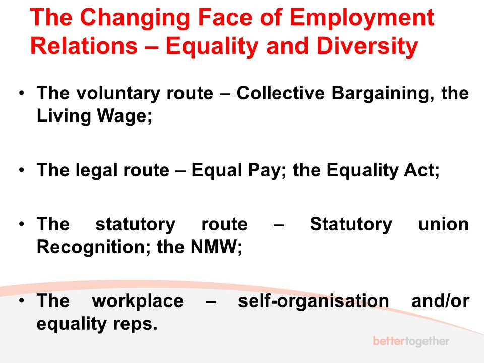 A return to voluntarism–the Living Wage.