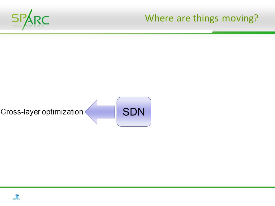 Where are things moving? SDN Cross-layer optimization