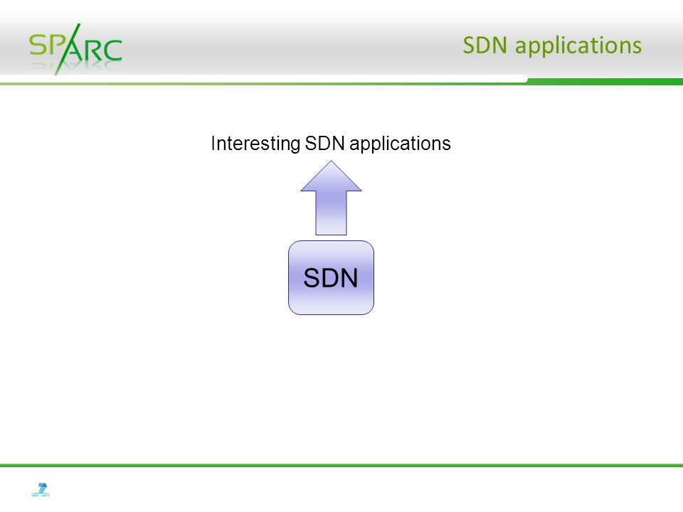 SDN applications SDN Interesting SDN applications
