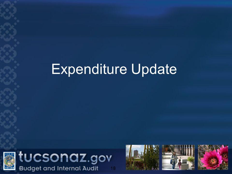 Expenditure Update 18