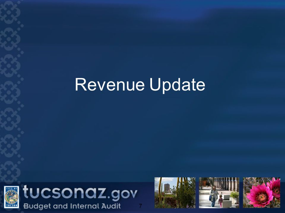 Revenue Update 7