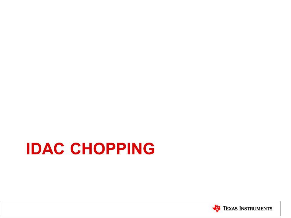 IDAC CHOPPING