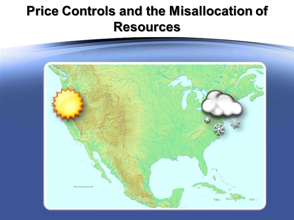 Price Controls and the Misallocation of Resources