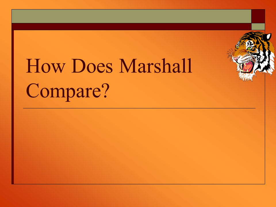 How Does Marshall Compare