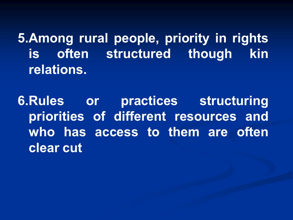 7.Rules or practices can do change, as conditions change.
