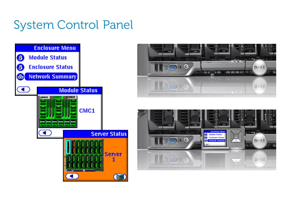 System Control Panel