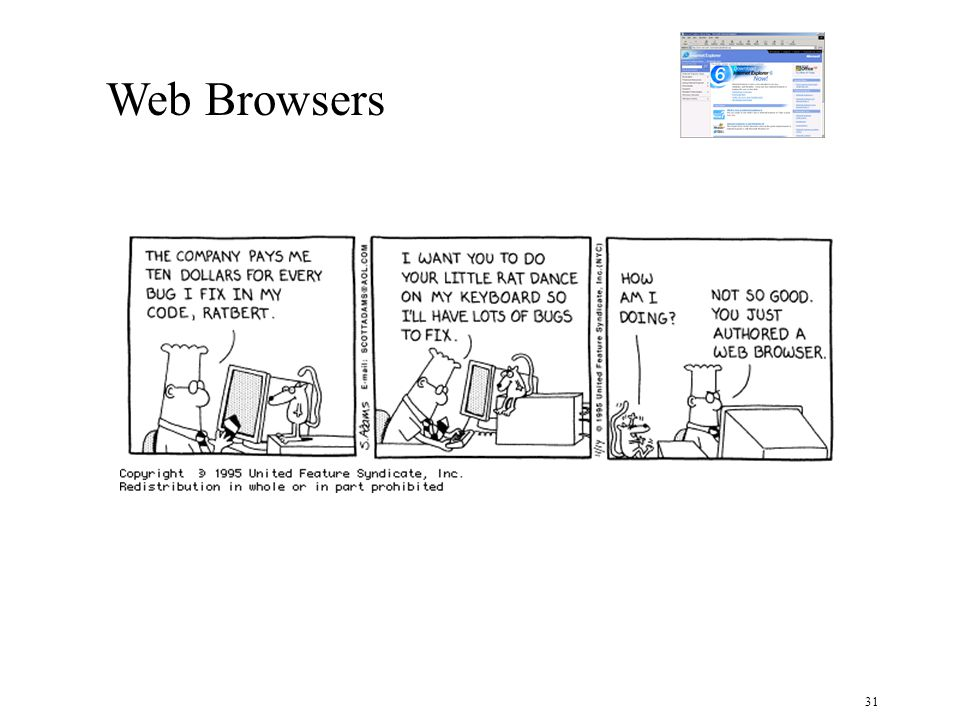31 Web Browsers