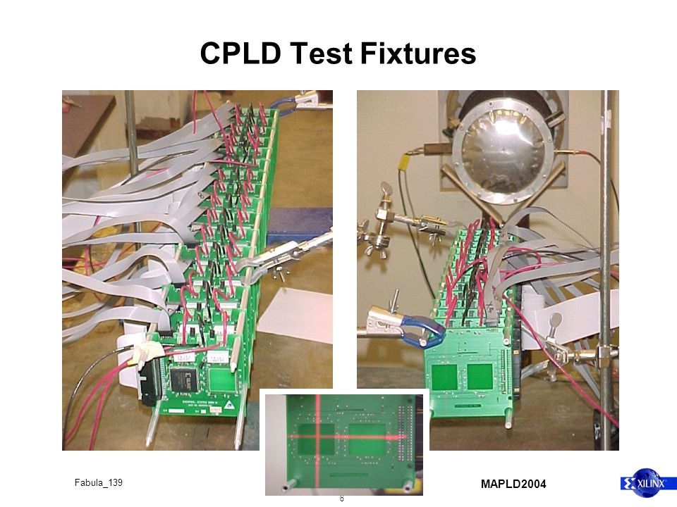 MAPLD2004 6 Fabula_139 CPLD Test Fixtures