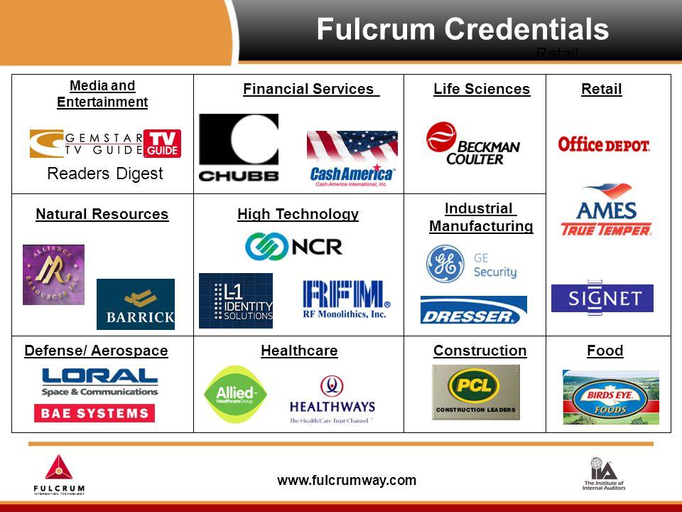 www.fulcrumway.com C.