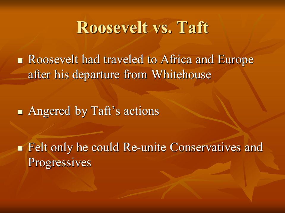 Roosevelt vs.