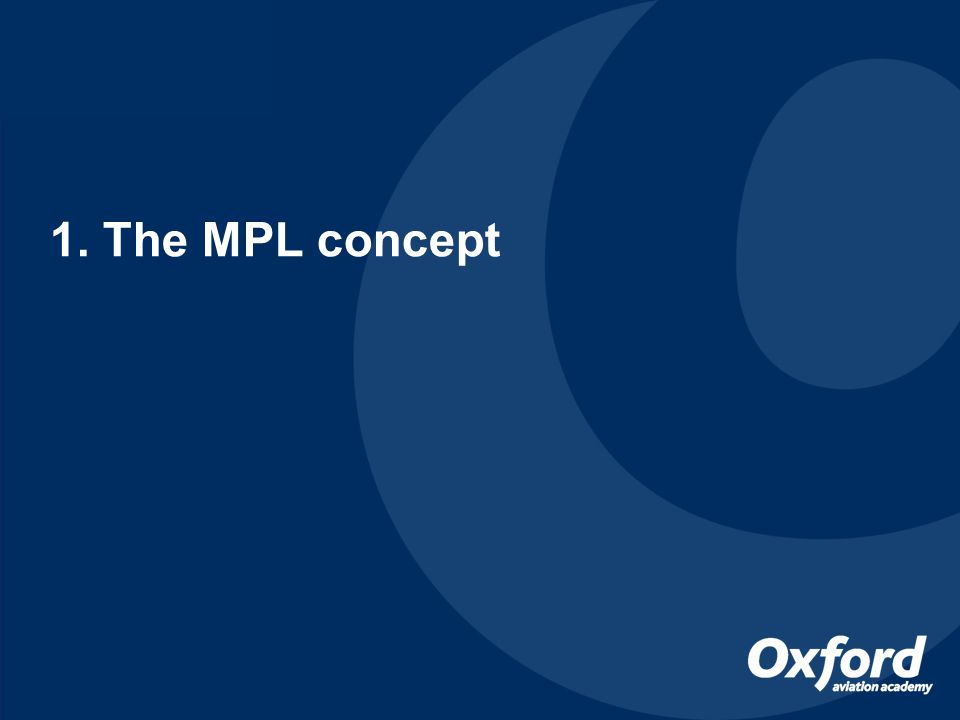 My 5 key points are: 1.To OUTLINE THE MPL for those still unfamiliar with the concept 2.To describe OUR MPL COURSE DESIGN (& a few words of advice!) 3.To dispel a few MPL 'MYTHS' 4.To describe an essential initiative to encourage MPL ENROLMENTS 5.To outline OPPORTUNITIES to further IMPROVE SAFETY under MPL