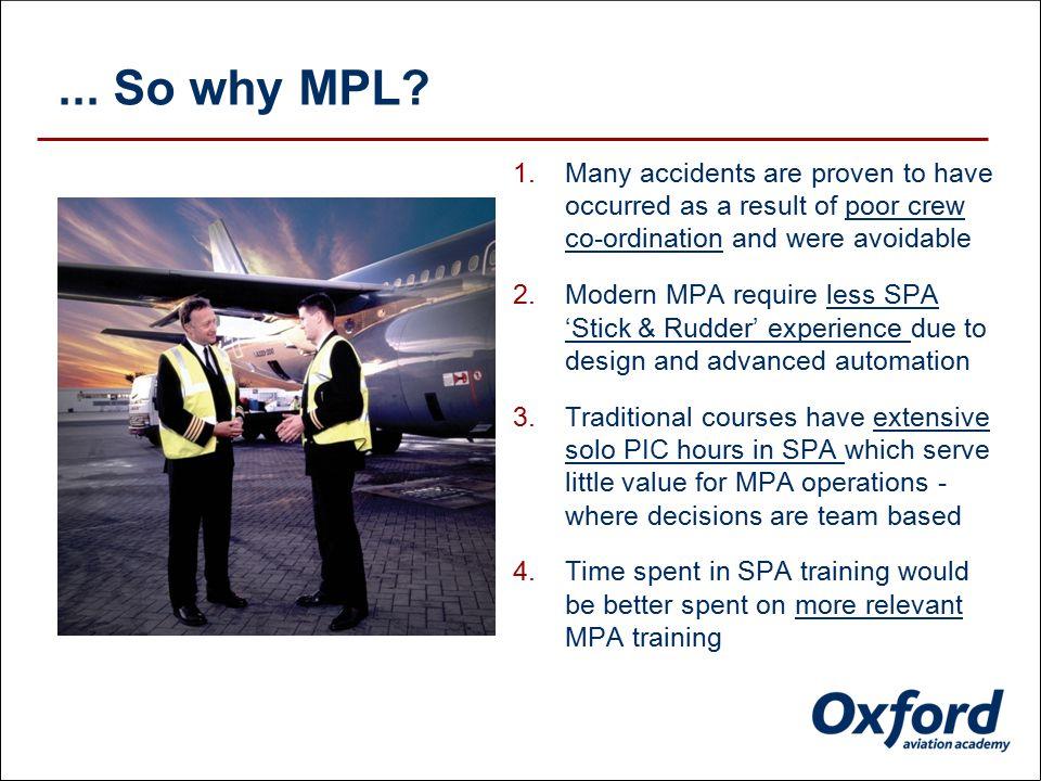 1. The MPL concept
