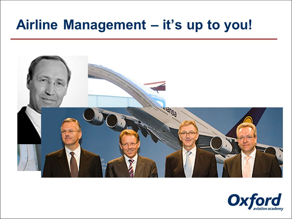 Airline Management – it's up to you!