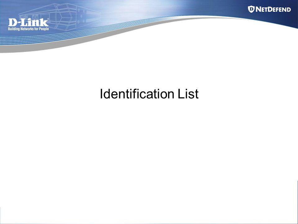 Identification List