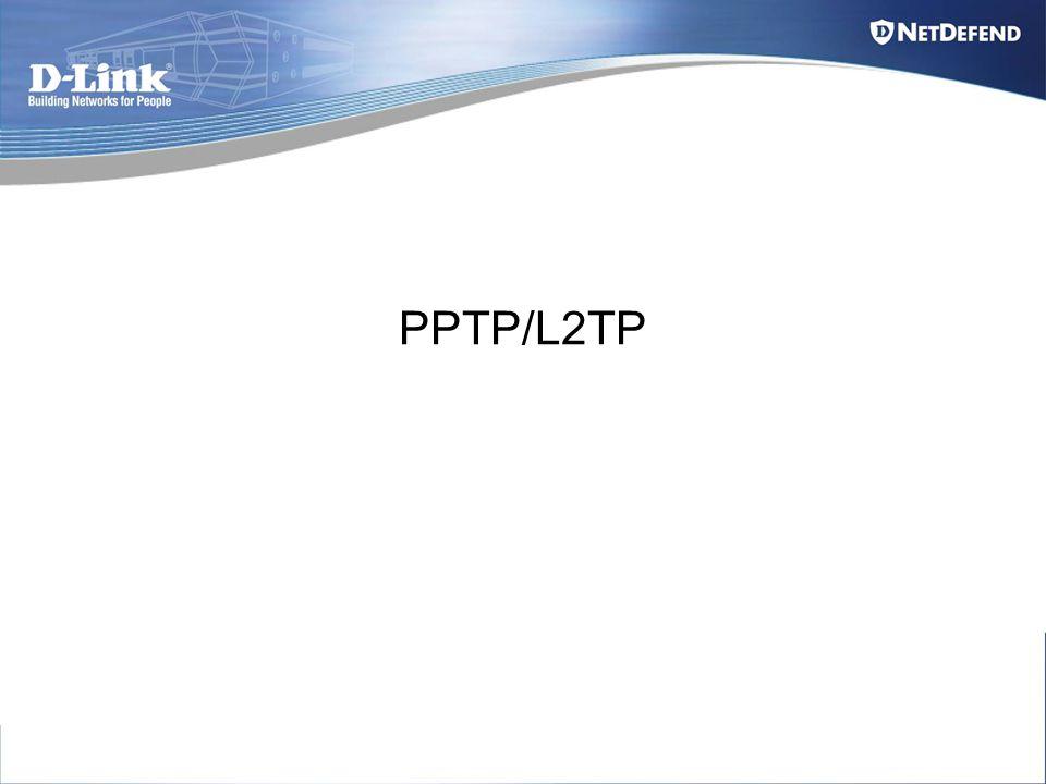 PPTP/L2TP