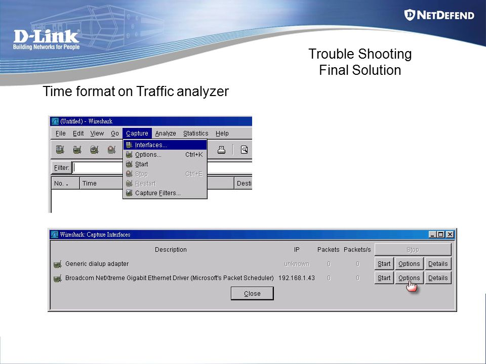 Trouble Shooting Final Solution Time format on Traffic analyzer
