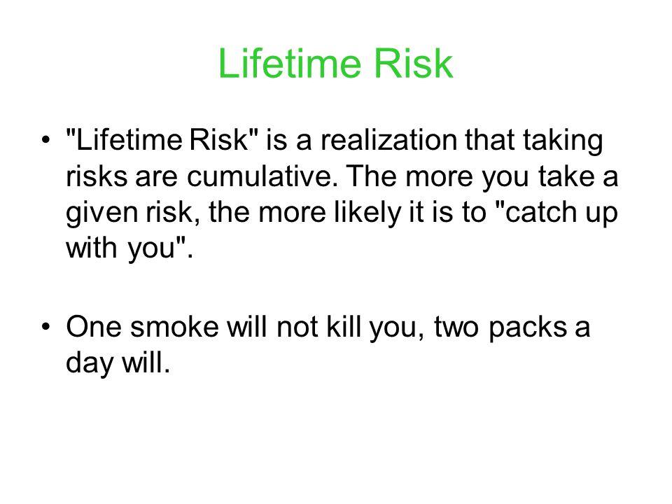 Lifetime Risk