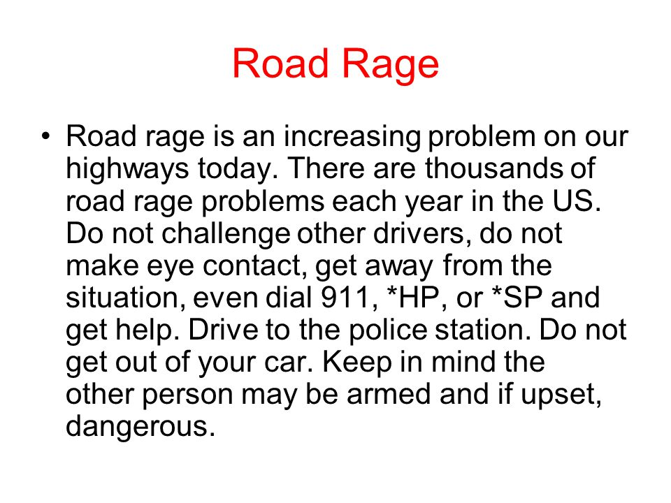 Why road rage.We are anti social people. Rude is the norm.